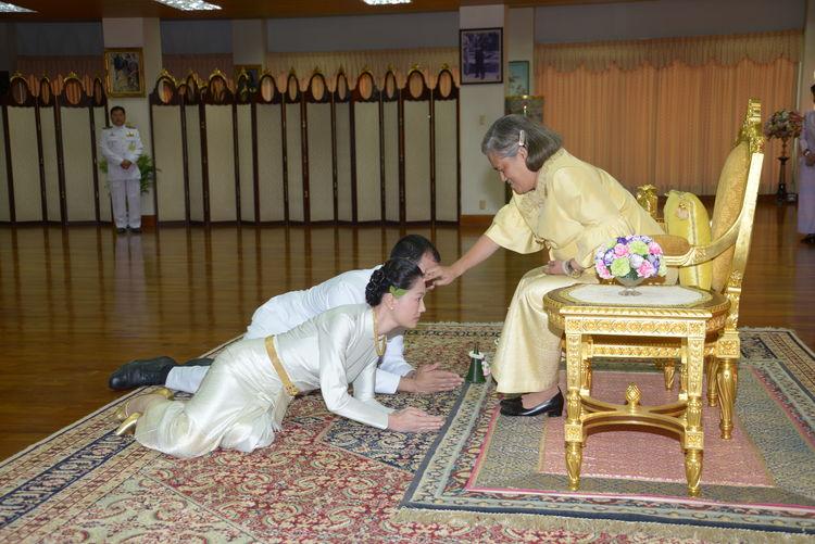 Bangkok Chitladapalace EyeEmNewHere Princess Maha Chakri Sirindhorn Royalblessing Thailand Royalty Thairoyalfamily Thaitraditonaldress