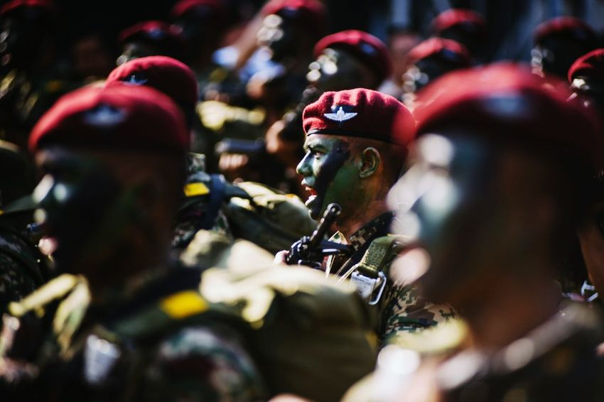 Learn & Shoot: Layering Kuala Lumpur Malaysia  Sehatisejiwa Parade Street Photography Merdeka58 Special Forces TwentySomething