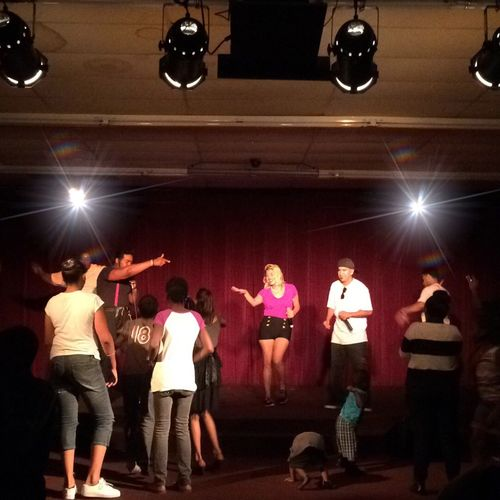 Busy night at Club Judah Live Music Gospel Rap Enjoying Life Hello World