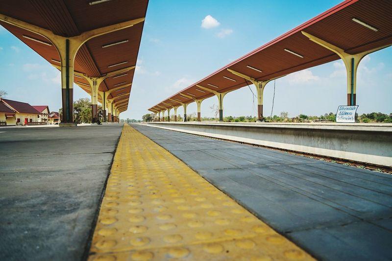 Transportation Bridge - Man Made Structure Architecture Railroad Track Surface Level City Built Structure