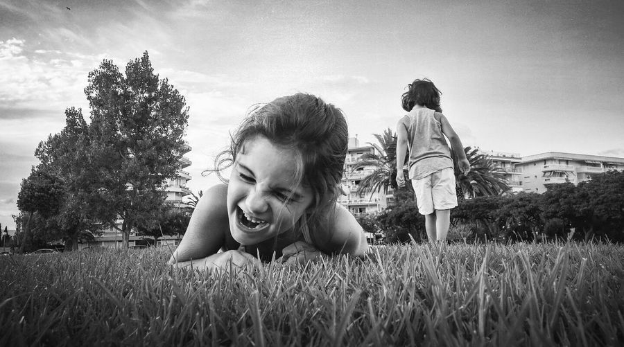 Fair play Blackandwhite Laughing Authentic Moments Holydays Cousins