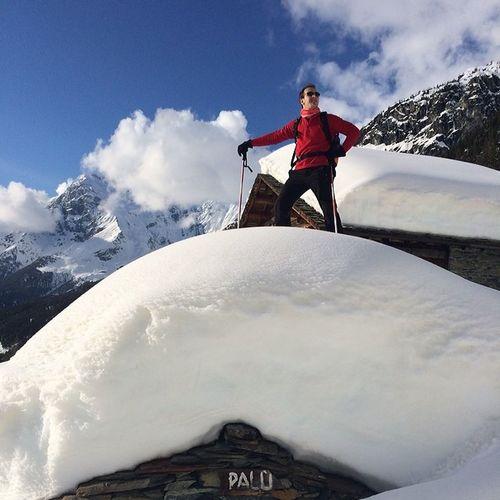 Lungo il sentiero che porta al lago Palù ??? #valtellina #valmalenco #winter2014 #pocaneve #palu #lagopalu Palu Winter2014 Valtellina Valmalenco Pocaneve Lagopalu