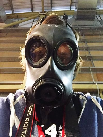 Gas Mask Safety Protective Mask - Workwear Protective Workwear Protection Indoors  Human Body Part Men Protective Glove Occupational Safety And Health Day Protective Suit Close-up People