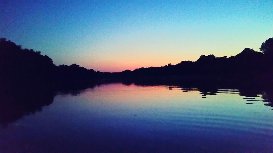 Night Light on the James River, Richmond, VA
