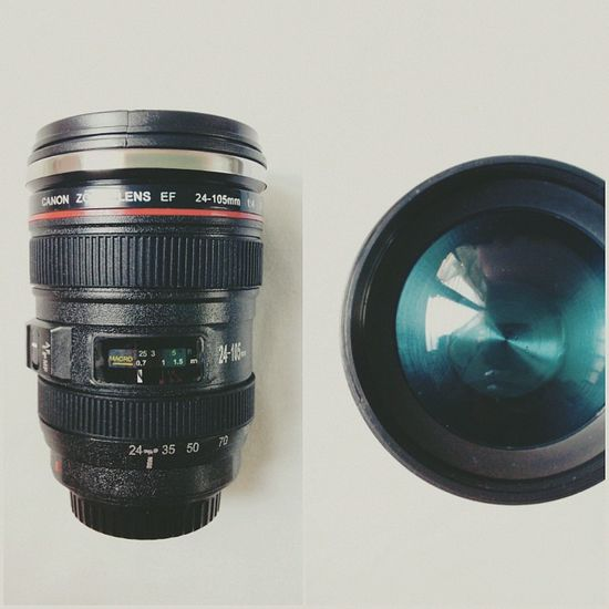 My Canon ef 24-105mm f/4.0I USM Zoom lens... coffeeTUMBLER ♥ツ Coffee Lens Tumbler Mobile Photography Mobilephotography Eyeem Philippines