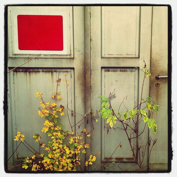 Lostplaces Door Bahn
