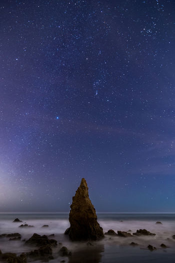 Canon 6D, Tokina AT-X 16-28mm f/2.8 Pro FX Astrophotography Beach Landscape Malibu Night Nightphotography Nightscape Sky