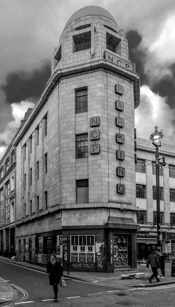 Art Deco Car Park, Brewer Street, Soho, London Car Park Art Deco Soho London Black And White Blackandwhite Monochrome Street Urban FUJIFILM X-T2 Architecture Built Structure