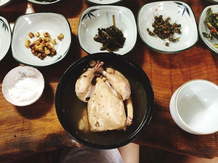 Food Korean Food EyeEm Selects Foodphotography 복날 중복 말복 초복 삼계탕 Onthetable