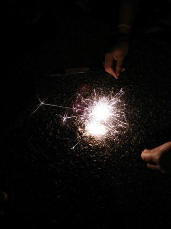 Celebration Close-up Family Firecracker Holding Light Light And Shadow Night Shadow Sparks Fly Fresh On Eyeem