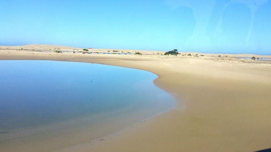 Sand Desert Desert Landscape Beauty In Nature Simple Elegance Water Reflections