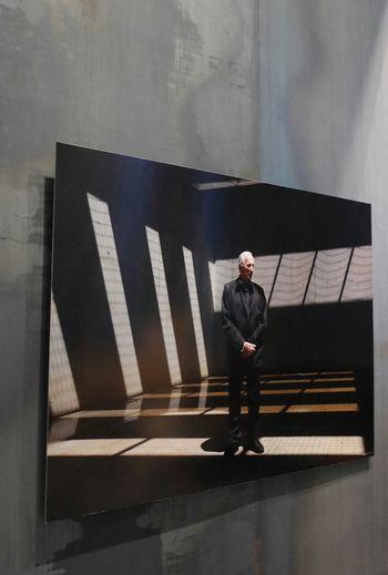 Pierre Soulages dans son musée Museum Soulages Musee Soulages Rodez Art Museum Artist Rodez Aveyron Soulages Museum Expo Photo Photography Art Photography