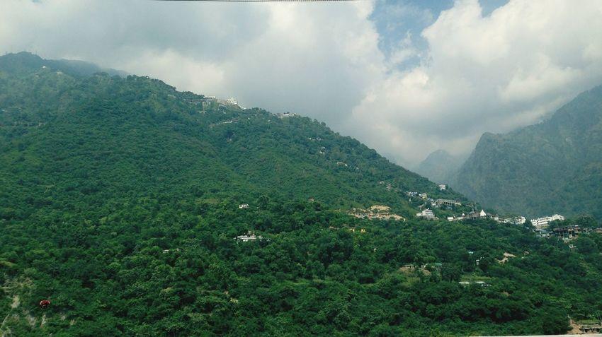 Mauntains Green Green Green!  Go Green Relaxing Mountain View Green Nature Er.KK.Chopra