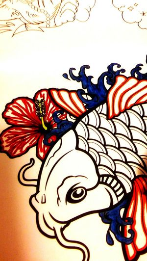 ArtInMyLife Artistic Artisticphotography Coyfish Working Mans Hands Coloringbooks Coy Fish Coloring