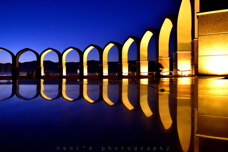 My Best Photo 2014 Structure Light Night Photography
