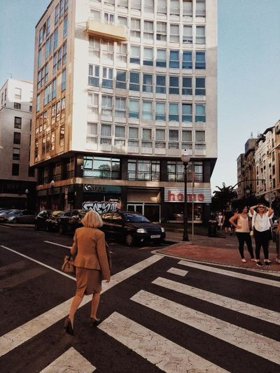 Architecture Building Exterior Built Structure Car City City Life Day Full Length Group Of People Land Vehicle Large Group Of People Men Outdoors People Real People Road Sky Street Transportation Women