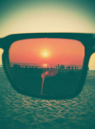 Sunshine Sun Goa Sunglasses Spyoptics Beach Sea Water