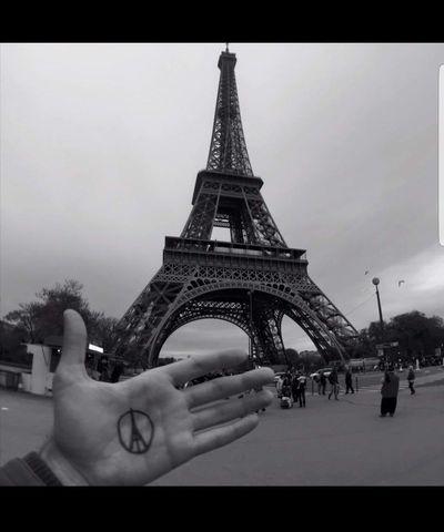 Peace #toureiffel #photography #EyeEmNewHere #beautiful #Paris #peaceandlove Paradise #JustMe ParisByNight #Paris #france  #Paris #EifelTow Paris Je T Aime #travel #streetphotography #NoFilter #art #travelphotography #paris #beautiful #city #vintage #love #Style #alternative #paris_photolovers #paris # Night #love #traveller City Full Length Cultures Sky Architecture