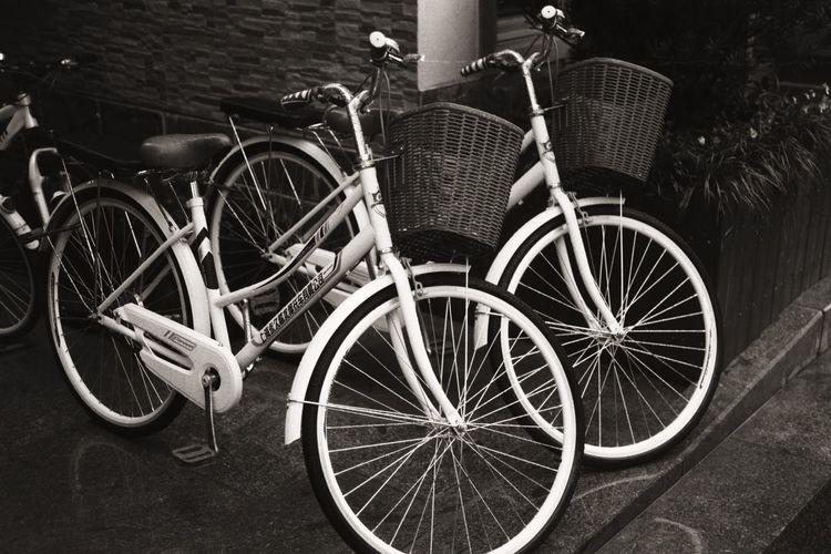 Black And White Bicycle EyeEm Gallery Taking Photos OpenEdit Popular Photos Outdoors Black & White