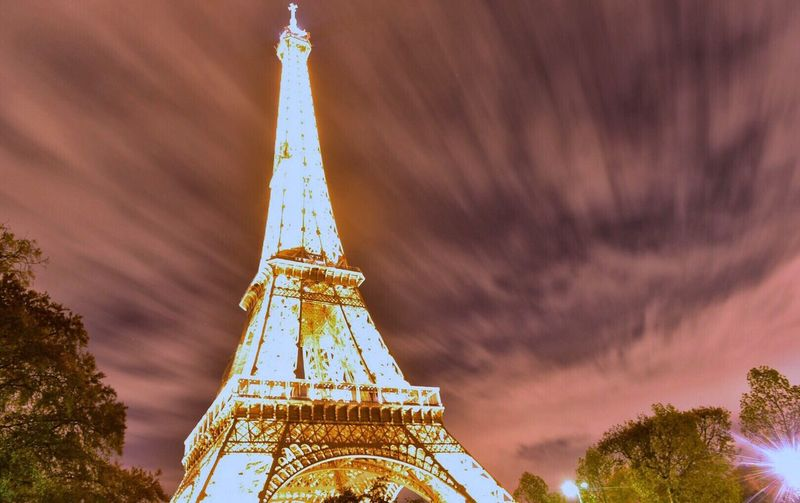 Eiffel Tower Nightphotography Thisisparis Love Eiffel Tower Paris Night