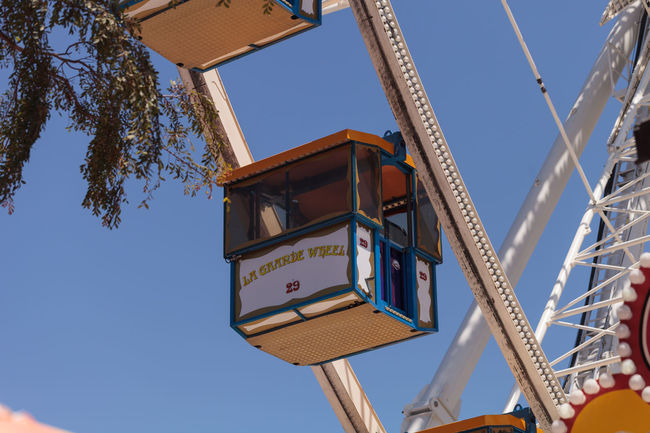 Ferris wheel at the Orange County Fair in Costa Mesa, CA on July 16, 2016. Amusement Parks Amusement Ride Celebration Entertain Entertainment Fairground Ferris Wheel Festival Fun OC Fair Orange County Fair Outdoors Ride Sky