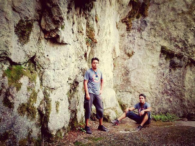 me and my twin at silvan lake