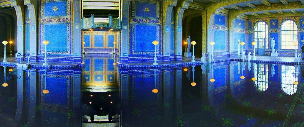Roman Pool in a magnificent Hearst Castle. Historical Building Swimming Pool Exotic Panoramic Photography The Architect - 2016 EyeEm Awards My Favorite Photo The Architect - 2017 EyeEm Awards
