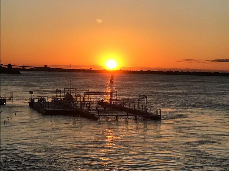 Sunset Water Sunlight Scenics Beauty In Nature Horizon Over Water Nautical Vessel