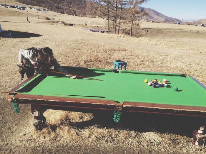 had a nice weekend before winter :) Billiard Fresh Air That's Me