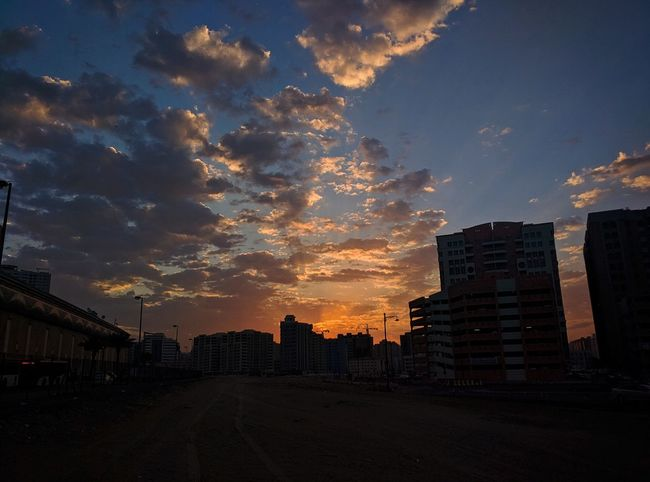 Mornings 😍 Cityscape City Sunset Urban Skyline Architecture Outdoors Cloud - Sky Beauty In Nature Landscape Travel Landscape_Collection Travel Destinations Orange Color Wanderlust Sunrise And Clouds Landscape_photography Landscape Photography Sunrise Silhouette Travel Photography Dubai City Life Mydubai Dubailife Built Structure Sunset_collection