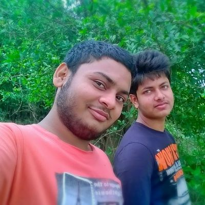 Me & Sudip bro..... Afterexam Smallhair Holidays