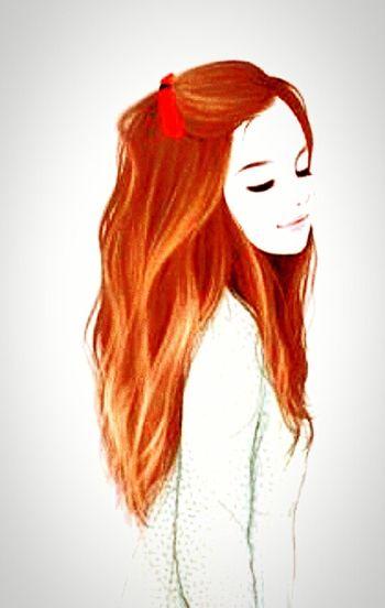 Hair Red Smile ✌ 😊😇