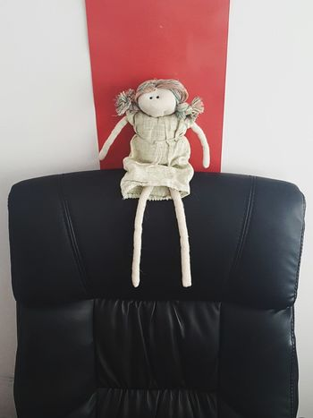 Dude Chair Doll In The Chair Indoors  No People Teddy Bear Neat Day Close-up