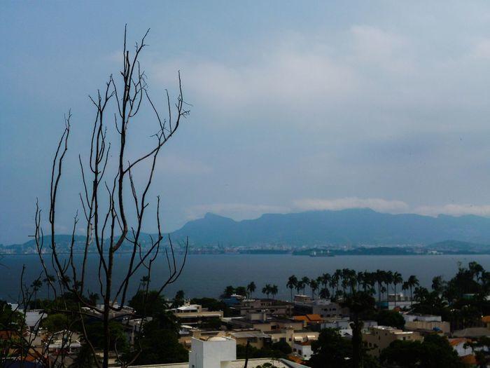 Rio De Janeiro Riodejaneiro Brazil Baia Da Guanabara Sea And Sky Seaside Sea