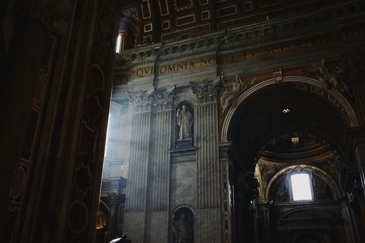 Roma Vatican VaticanCity Architecture Travel Destinations Arch Architecture Built Structure Light And Shadow Light Sun Fine Art Photography Church Beautiful Jesus High Fine Art Connected By Travel