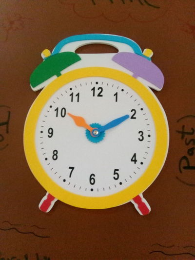 A clock is