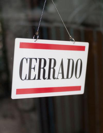 Closed spanish