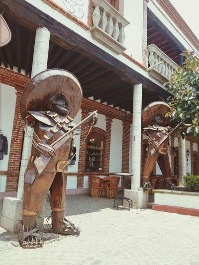 Revolucionários Mexico Villa Del Carbón Sculpture Art