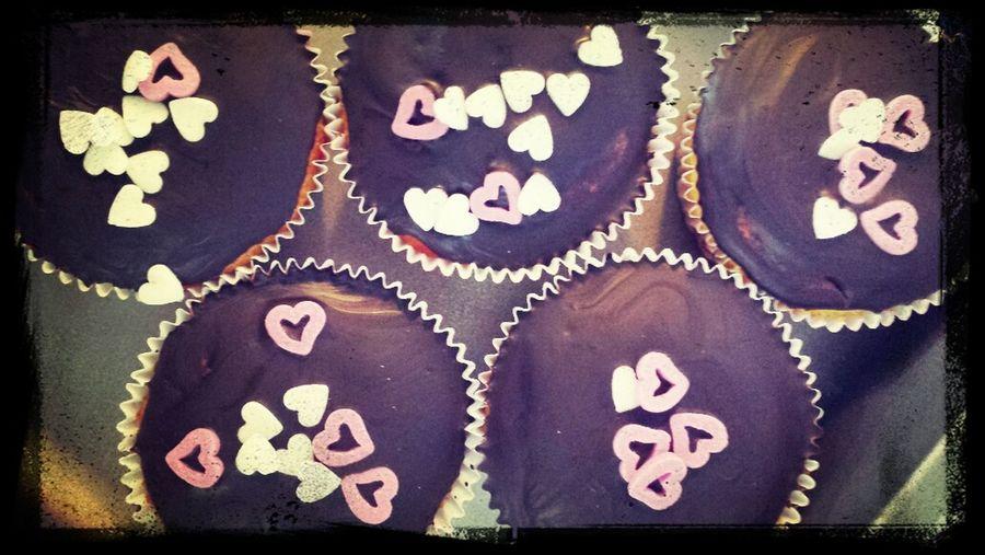 ... und ein paar Schokomuffin s with Love <3