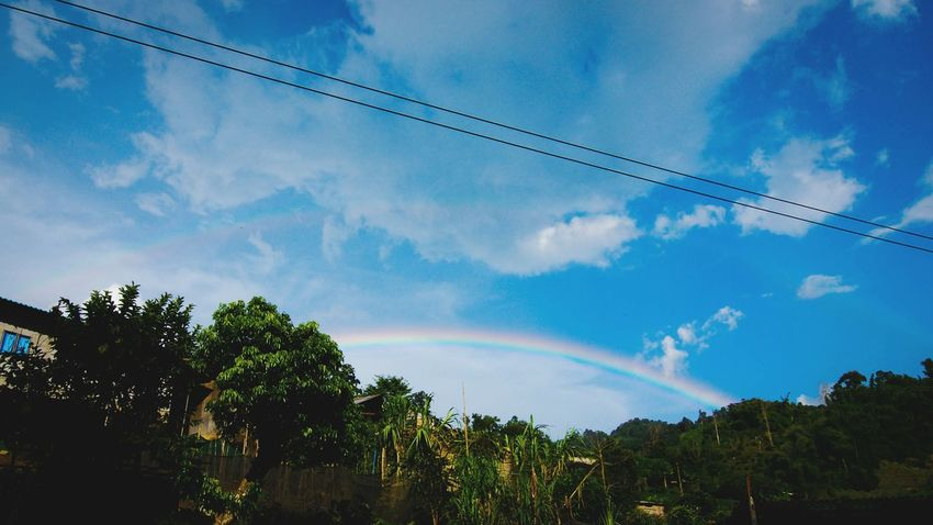 Capture The Moment A double Rainbow taken at the mountains at Chiangrai .