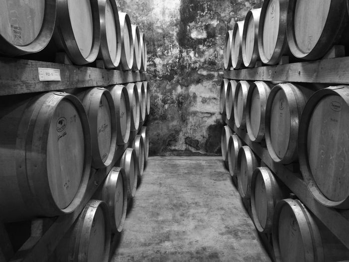 In A Row Wine Cask Order Repetition Barrel Cellar Wheel Group Of Objects Wine Cellar Rack Winemaking Round Outdoors Large Group Of Objects Arrangement Journey Man Made Object First Eyeem Photo