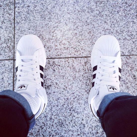 Superstar 나는 슈퍼스타 Adidas Shoes