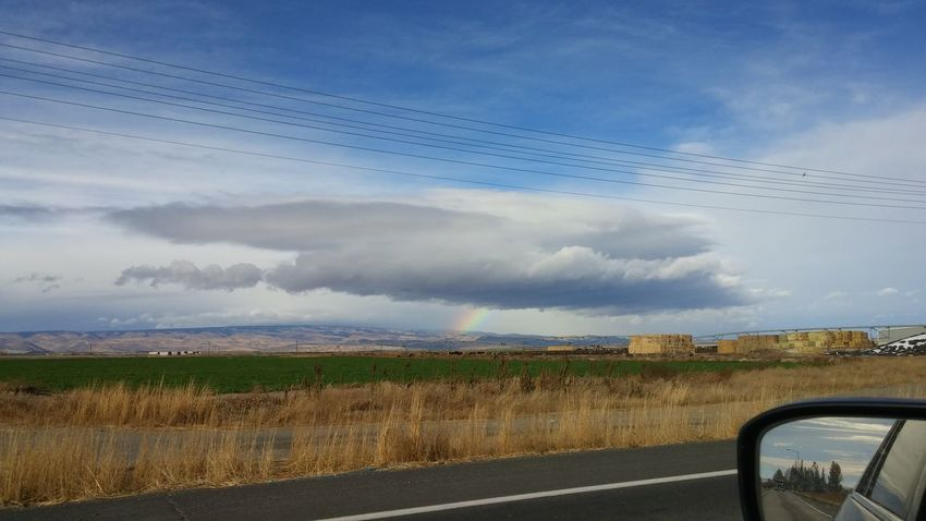 Chasing the Rainbow. Skyporn Cloudporn