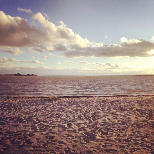 Beach Enjoying