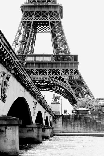 Classic Paris Tour Eiffel Eiffel Tower Blackandwhite