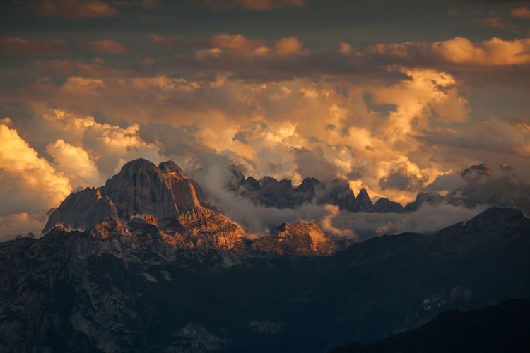 Landscapes from Dolomite Mountains, Italian Alps. Aerial Alpine Alps Clouds Cloudy Dolomites Europe Italy Landscape Light Light And Shadow Mountain Nature Photography Rocky Sky Sunset View View From Above