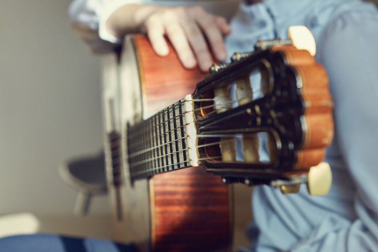 Guitar Musical Instrument Guitar Music One Person Midsection Artist Playing Real People Musician Men Guitarist Human Hand Skill  Acoustic Guitar My Best Photo