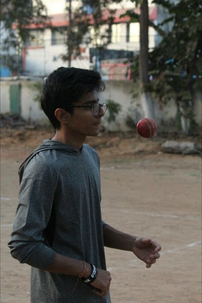 The little cricketer Outdoors Adult Childhood Real People One Boy Only Ball Night Throwing  Sport Standing Males  One Person Waist Up Lifestyles People Basketball - Sport Cricket Cricket Field Cricket Ball Cricketfever CricketWorldCup Cricket Match Sports Photography Sportsman