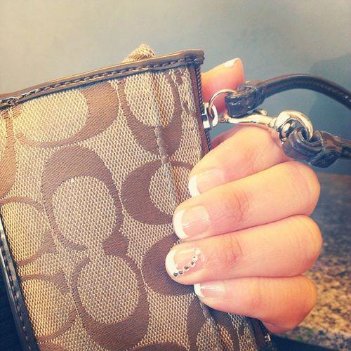 Mani ✔ SimpleAndCute Nails Coach Wristlet