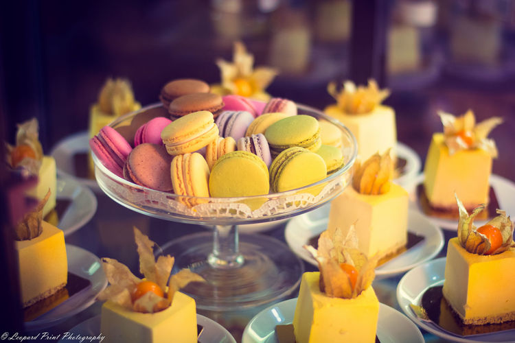 Abundance Arrangement Choice Close-up Decoration Dessert Dessert Porn Desserts Focus On Foreground Food Freshness Indulgence Large Group Of Objects Macarons Multi Colored No People Ready-to-eat Selective Focus Still Life Temptation Variation Yellow